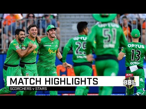 Stars scorch Perth in BBL demolition job | KFC BBL|09