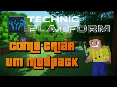 Como criar um modpack para a Technic Platform (Grátis)