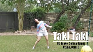 Taki Taki   DJ Snake, Cardi B, Ozuna   Dance Choreography   Dance Trak Academy Pune