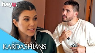 Kourtney Doesn't Want To Give Scott Mixed Messages | Season 16 | Keeping Up With The Kardashians