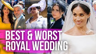 Best & Worst Dressed Celebs at the Royal Wedding (Dirty Laundry)