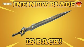 *REALTALK* INFINITY BLADE SWORD IS BACK! - Fortnite funny Fails and WTF moments! #22