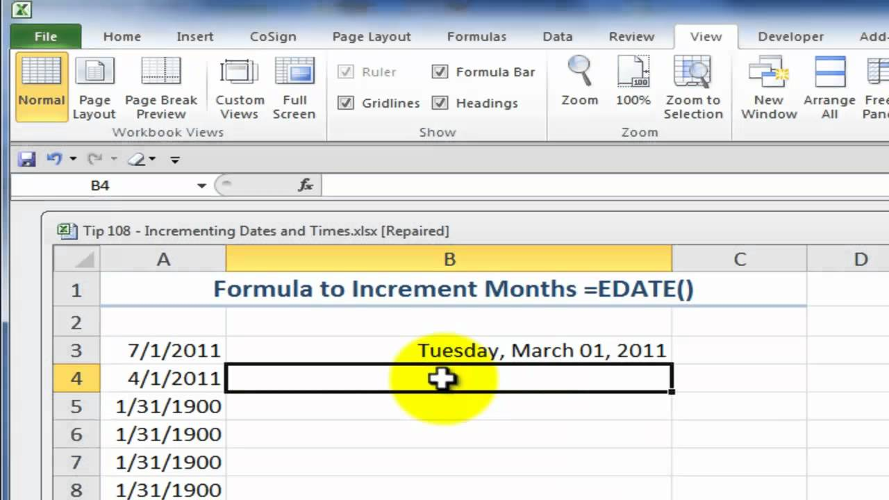 how to make 2 series in excel