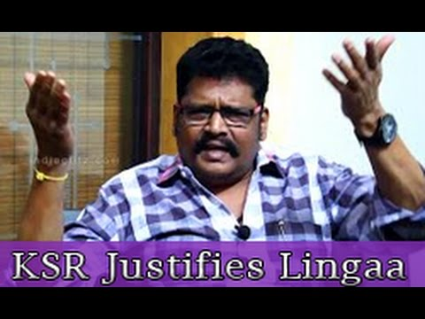 KS Ravikumar's reply to people who post Negative Review on Lingaa Climax | Interview