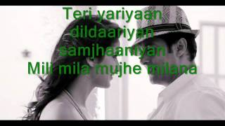 Mashallah Ek Tha Tiger  - Full Song ( Lyrics ) HD