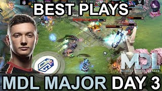 MDL Changsha Major 2018 BEST PLAYS Day 3 Highlights Dota 2 by Time 2 Dota #dota2