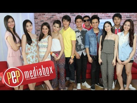 PEPtalk (Part 1). Star Magic 2013 talents reveal how they plan to make a mark in showbiz