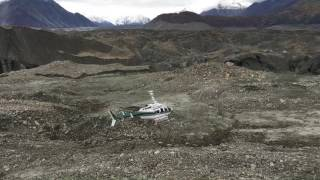 Climate-Change Driven Glacial Retreat Causes Slims River to Dry Out
