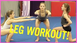 Leg Workout With TheCheernastics2!