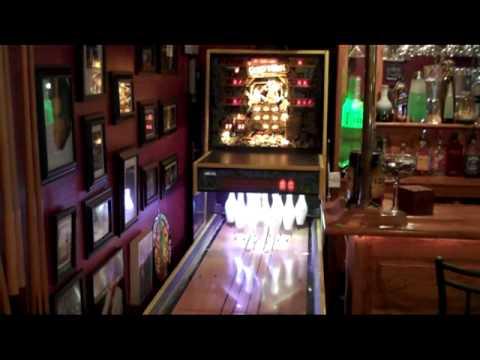 Home Game room arcade update 3/18/10 pinball garage - YouTube