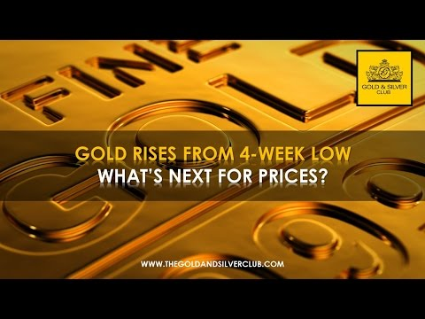 The Gold & Silver Club | Commodities Trading | 103 - Gold Price Rises From 4-Week Low