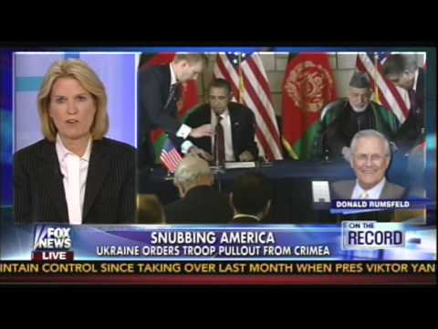 Donald Rumsfeld discusses Obama administration's inability to deal with Karzai