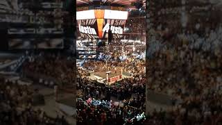 Stone cold Steve Austin's entrance at Madison Square garden Monday night raw 9/9/19