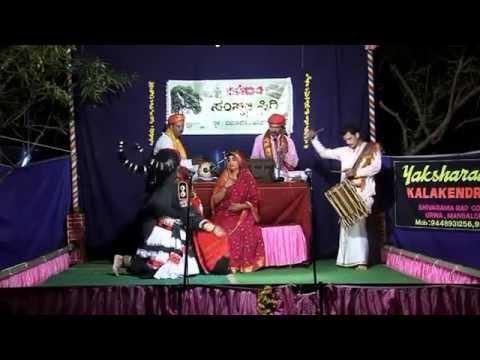 Yakshagana Mahishasura Mardini Part- 5,ಮಹಿಳಾ ಯಕ್ಷಗಾನ, By Yaksharaadhanaa Kala Kendra (r) video