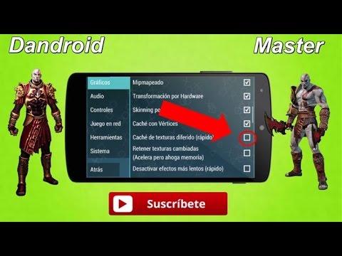 La Mejor Configuracion En Good Of War - PPSSPP Gold Aumentar Velocidad Para Android  2018!!!