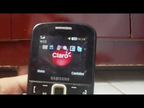 Como fazer Hard Reset no Samsung Ch@t......