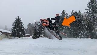 THE BIGGEST SNOWMOBILE FAIL!!