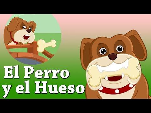 Cuentos Infantiles para Dormir en Español - El Perro y el Hueso - ChuChu TV Cuentacuentos