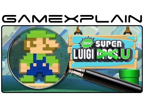 New Super Luigi U - Gameplay Analysis Part 3 (Secrets & Hidden Details)