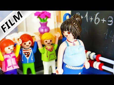 Playmobil Film deutsch | Was ist mit MATHELEHRERIN los? Schwanger? Krank? Kinderserie Familie Vogel