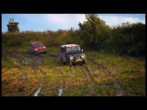 Fiat Panda Cross 4x4. Fifth Gear review.