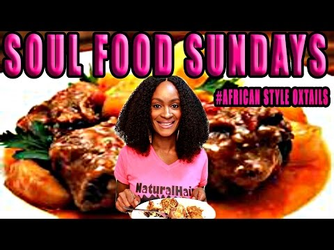 ASMR/MUKBANG: AFRICAN STYLE OXTAILS, YAMS, GREENS, & PEACH COBBLER! COOK WITH ME! YUMMYBITESTV