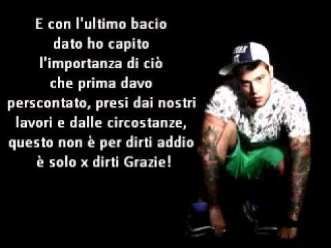 Fedez - Unica Al Mondo (Testo) Music Videos