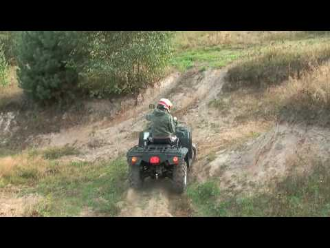 Test Hisun atv700-2