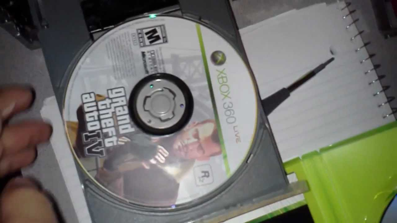how to stop xbox 360 from scratching discs