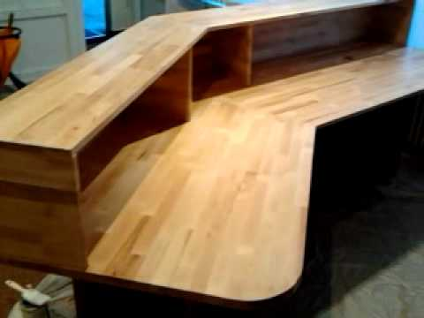 tresen komplett selber youtube. Black Bedroom Furniture Sets. Home Design Ideas
