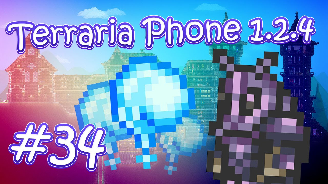 LP. HM. Terraria Phone 1.2.4 #34 (Броня жука и ферма эктоплазмы) - YouTube