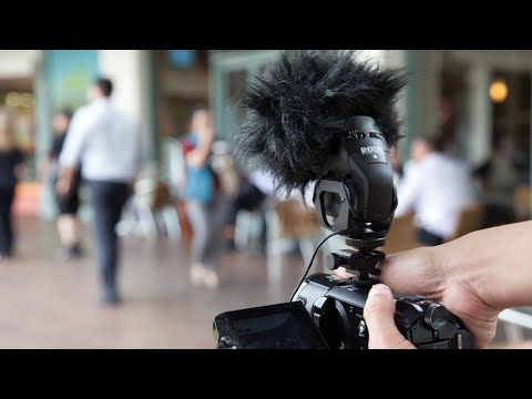Rode Stereo VideoMic PRO - Microfone para Filmadoras e Câmeras DSLRs