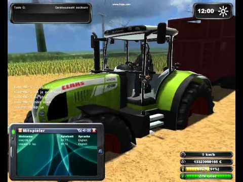 LS 2011 Multyplayer (MP) in platteland map met mods