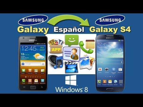 transferir todos los archivos de Samsung Galaxy S1/S2/S3/Note 1/Note 2 al Galaxy S4