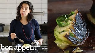 Carla Makes Charred Cabbage | Bon Appétit