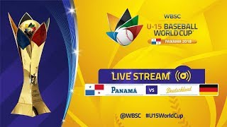 Panama v Germany - U-15 Baseball World Cup 2018