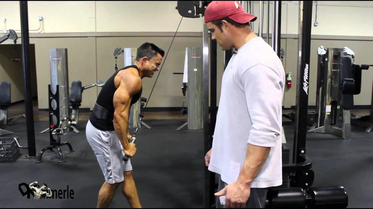 Triceps Pushdown V Bar  Exercise Database  Jefit  Best