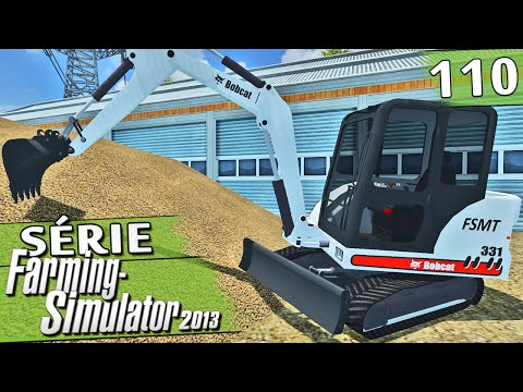 Farming Simulator 2013 - Mini Escavadeira