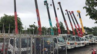 Xe Tải Gắn Cẩu Cũ, Qua Sử Dụng, Hyundai, Hino, Daewo...Bán Cẩu Nghĩa Địa