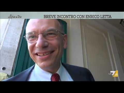 Breve incontro con Enrico Letta