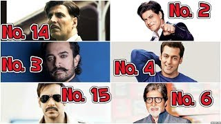 Who Has Given The Most Blockbuster Movies - All Times Bollywood