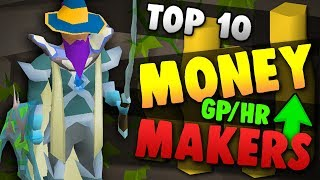 Top 10 BEST Money Making In OSRS