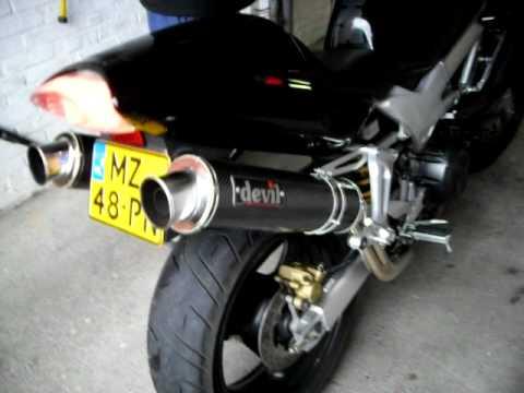 Honda VTR 1000 Firestorm impressive sound