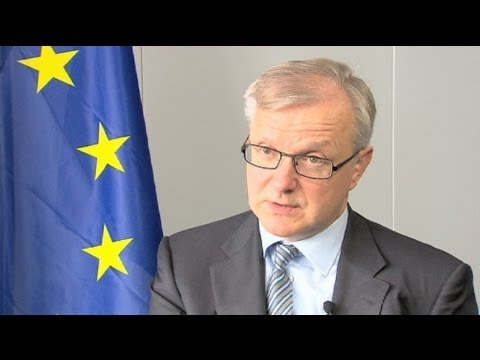 euronews interview - Rehn: 'Greece will be in the euro next year'