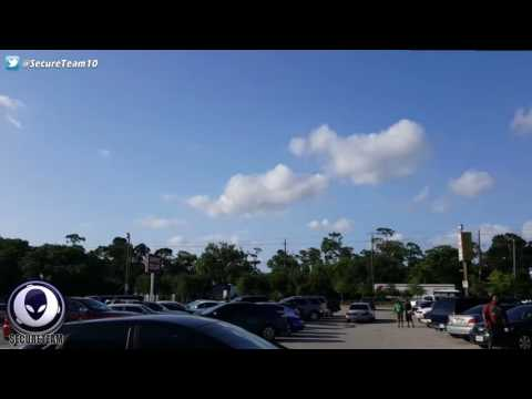 TEXAS MYSTERY: Security Guard Records Puzzling UFO Outside Mall! 6/17/16