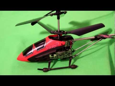 Review: Wi-Spi Helicopter. RC Helicopter Takes Video and Photos.  Control with iOS or Android Device