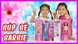 Đồ Chơi TỦ QUẦN ÁO BÚP BÊ BARBIE- Trò Chơi Bé Ánh Mai Trang Trí Búp Bê Barbie- Barbie Wardrobe