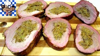 How To Make the BEST Stuffed Pork Loin - Pork Loin Recipe