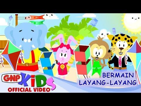 Lagu Anak - Bermain Layang Layang Versi Animasi - Anthony S & Fajar