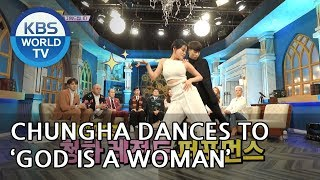 Chungha Dances To 39 God Is A Woman 39 By Ariana Grande Happy Together 2019 02 07